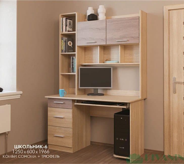 Стол компьютерный Школьник-6