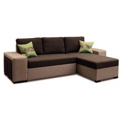 Угловой диван Леванте угол с пуфиками DANIRO