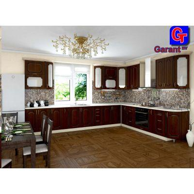 Кухня «Платинум» 6.66x3 м Гарант