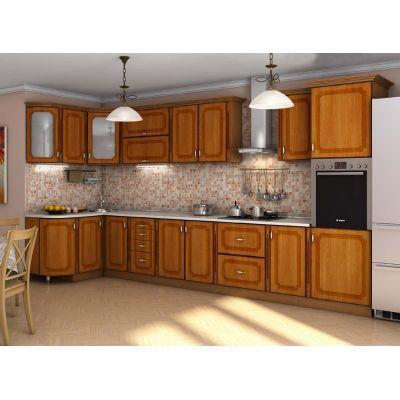 Кухня «Платинум» 1.2x3.85 м Гарант