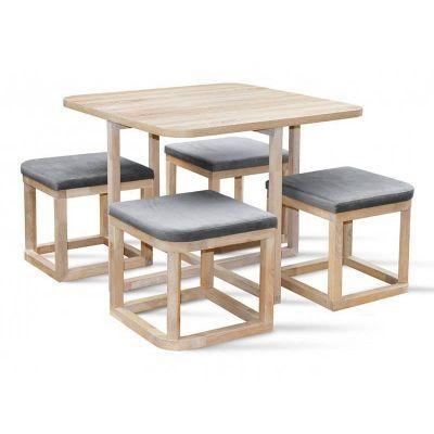 Стол обеденный со стульями Мирайя Q