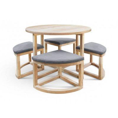 Стол обеденный со стульями Мирайя R