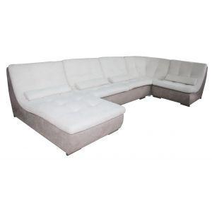 Угловой диван Спейс премиум модульный 420 см МКС