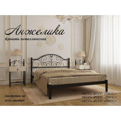 """Кровать """"Анжелика"""" Металл-Дизайн 140х190"""