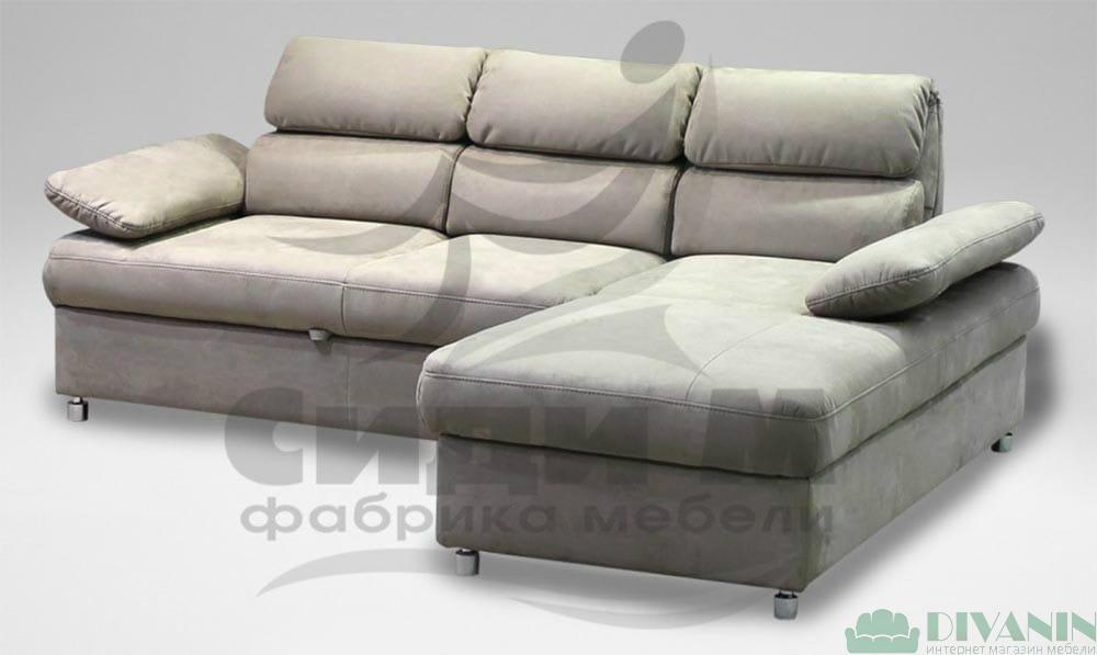 Угловой диван Боно  компактный СидиМ