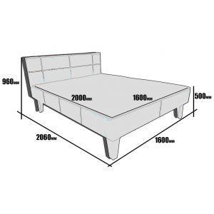 Кровать Афина Юдин