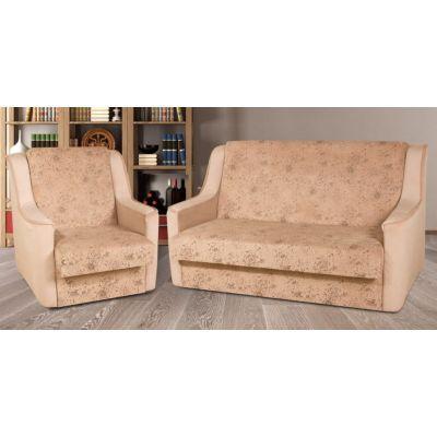 Комплект Диван Американка №1 110 см. + кресло раскладное Веста