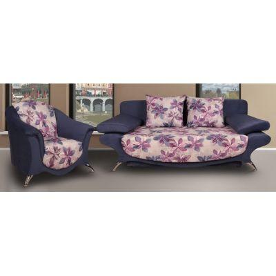 Комплект диван Барон + 2 кресла Веста