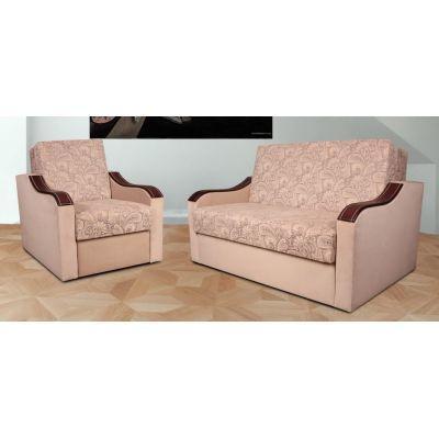 Комплект диван Токио  110 см.+2 кресла раскладных Веста