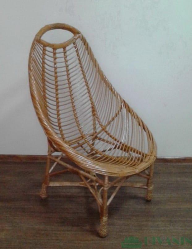 Кресло Овал из Лозы