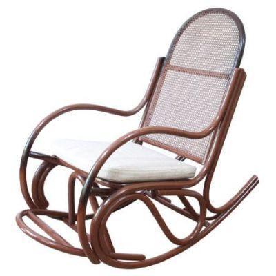 Кресло-качалка Бриз из Ротанга с подножкой