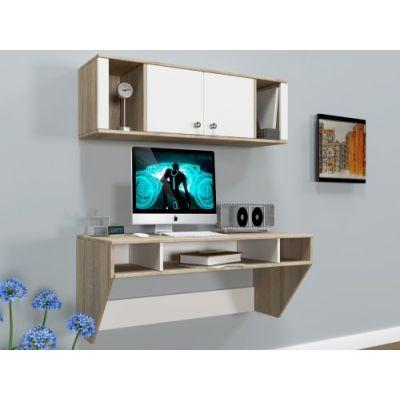 Навесной компьютерный стол ZEUS AirTable-II Kit SW Escado