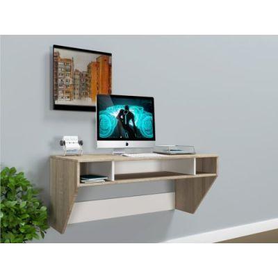 Навесной компьютерный стол ZEUS AirTable-II SW Mini Escado