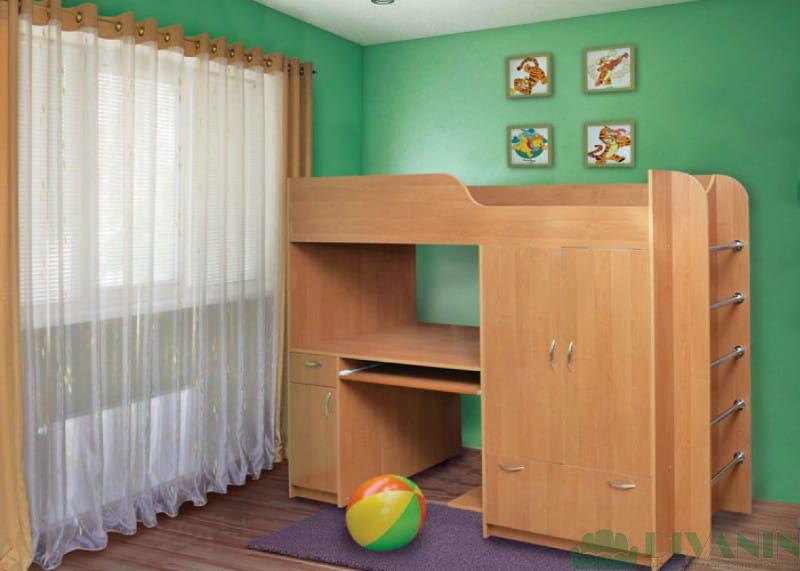 Двухъярусная кровать Дуэт-1