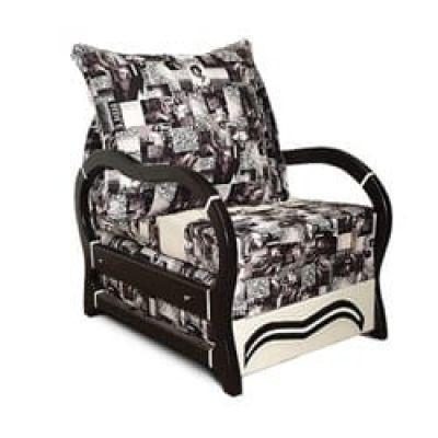 Кресло Венеция 0.7 Black Wood