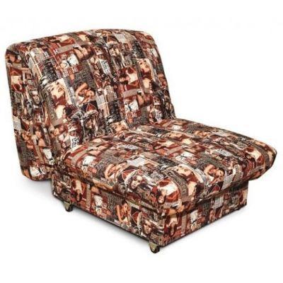 Диван-кресло Аккордеон 0.8 Black Wood