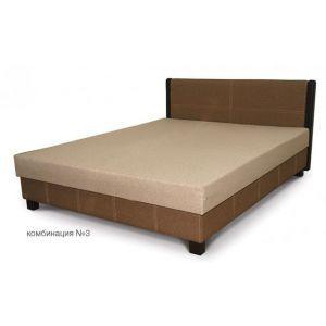 Кровать Ливорно 0.9 Black Wood