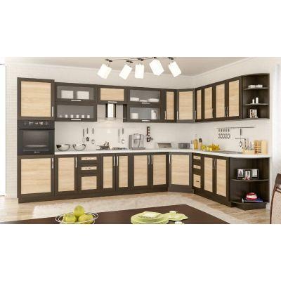 Кухня угловая «Гамма рамка» 3.6х2.3 м