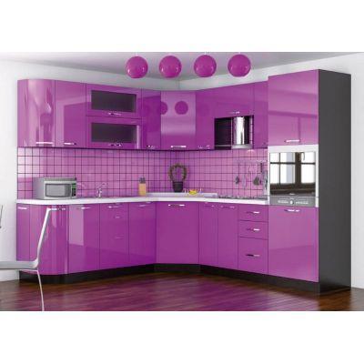 Кухня угловая «Гамма глянец» 2.30х2.40 м