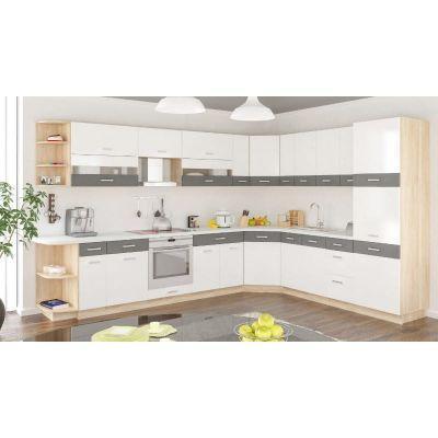 Кухня угловая «Глобал» 3.3х2.4 м