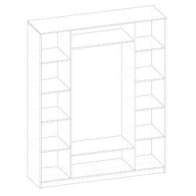 Шкаф 4Д «Рома»