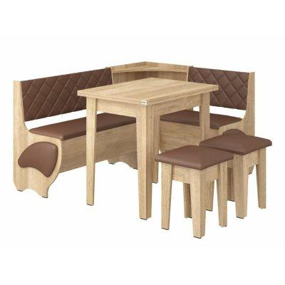 Кухонный уголок Милорд (нераскладной стол)