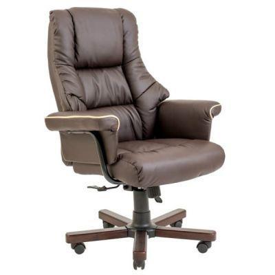 Кресло Конгресс Хром+Кожа-комбо Richman