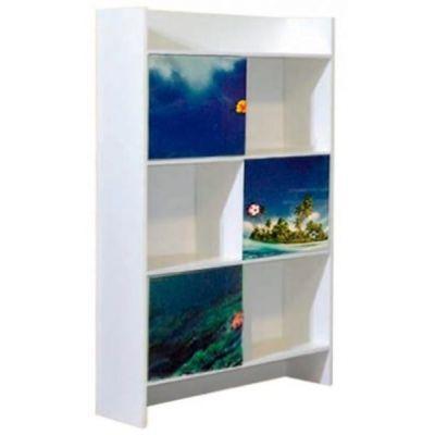 Шкаф книжный «Дельфины»