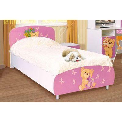 Кровать 1-сп «Мишки» без матраса и каркаса