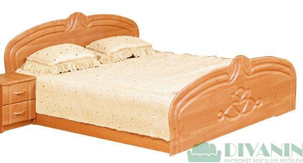 Кровать 2-сп «Антонина» без матраса и каркаса