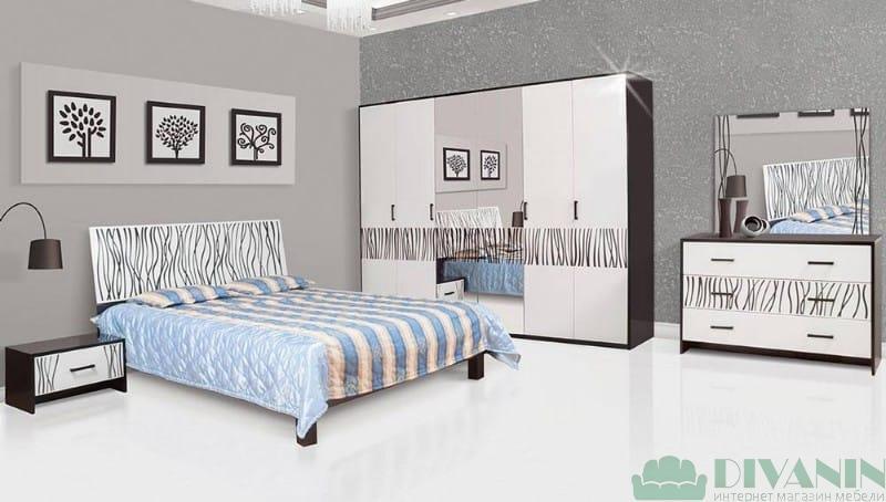 Спальня 6Д «Бася Нова нейла»