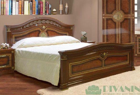Кровать 2-сп «Диана» без матраса и каркаса