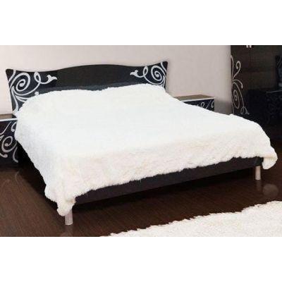 Кровать 2-сп «Фелиция Нова черный лак» без матраса и каркаса
