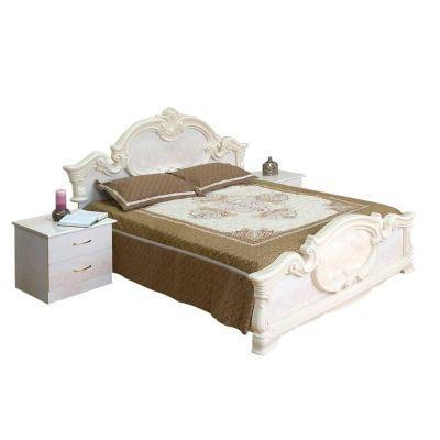 Кровать 2-сп «Империя роза» без матраса и каркаса
