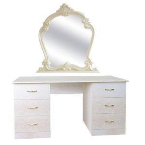 Туалетный столик с зеркалом «Империя роза»