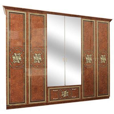 Шкаф 6Д «Жасмин пино орех»