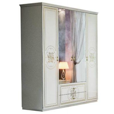 Шкаф 4Д «Жасмин белый»