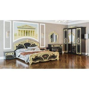 Спальня 4Д «Кармен Нова Люкс черное золото»