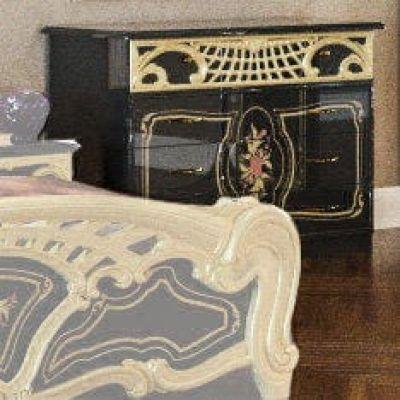 Комод «Кармен Нова Люкс черное золото»