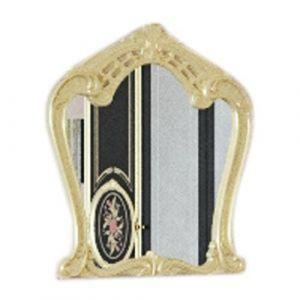 Зеркало «Кармен Нова Люкс черное золото»