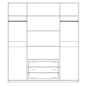 Шкаф 4Д «Кармен Нова пино беж»