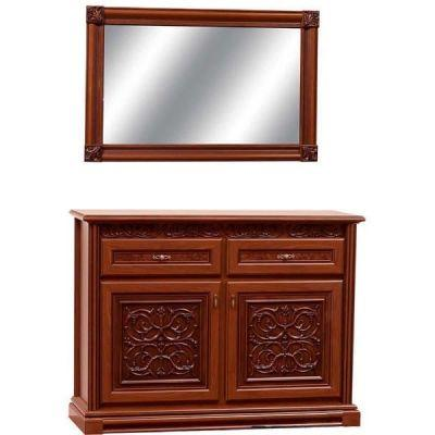 Комод 2Д 1.3 с зеркалом «Лацио»