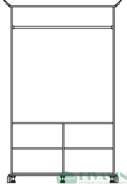 Шкаф 2Д «Лацио»