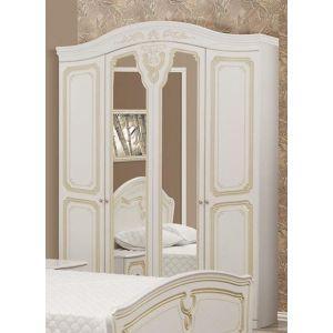 Шкаф 4Д «Луиза патина»