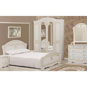 Спальня 4Д «Луиза патина»