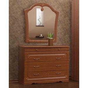 Комод с зеркалом «Луиза дуб золотой»
