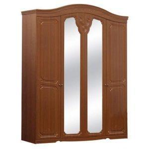 Шкаф 4Д «Луиза дуб золотой»