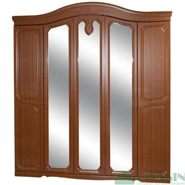 Шкаф 5Д «Луиза дуб золотой»