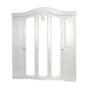 Шкаф 5Д «Луиза белое дерево»
