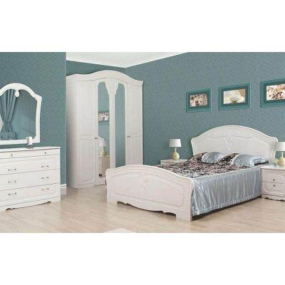Спальня 4Д «Луиза белое дерево»